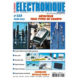 N° 113 Electronique & Loisirs Magazine Hiver 2010