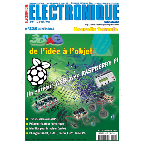 N°125 Electronique & Loisirs Magazine Hiver 2013
