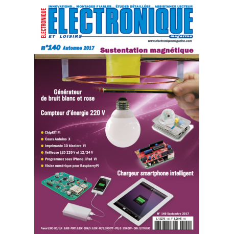 n 140 electronique loisirs magazine automne 2017 electronique loisirs magazine. Black Bedroom Furniture Sets. Home Design Ideas