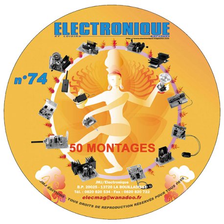 CD ROM  Spécial 50 montages n° 74
